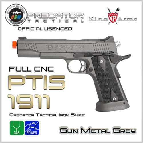 [킹암스] Predator Tactical Iron Shike 1911 - GY