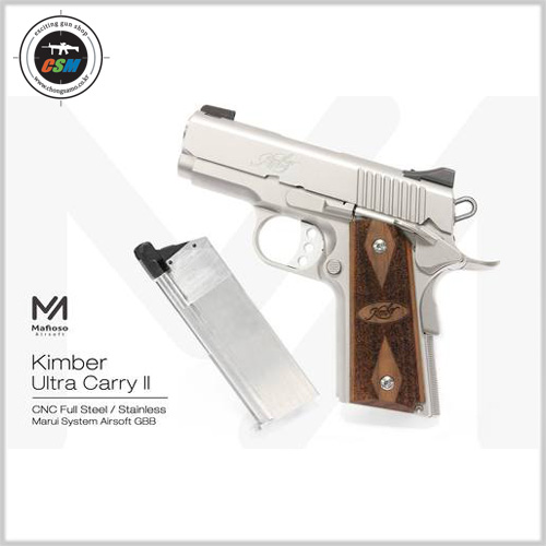 [Mafioso] Kimber Ultra Carry Stainless Steel CNC Kit
